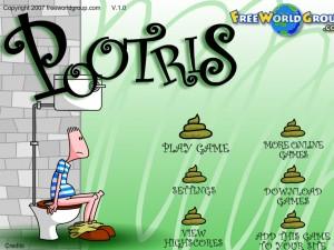 Онлайн Игра Туалетный тетрис (Pootris Plumber) (изображение №5)