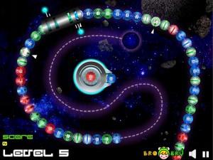 Онлайн Игра Космические Шары Зума (Space Ball Blaster) (изображение №1)