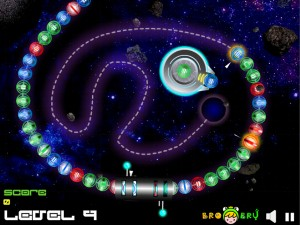 Онлайн Игра Космические Шары Зума (Space Ball Blaster) (изображение №2)
