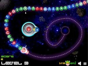 Онлайн игра Космические Шары Зума (Space Ball Blaster) (изображение №3)