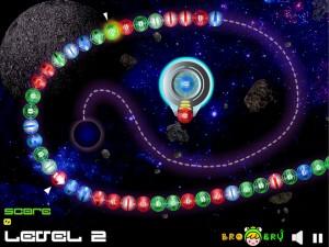 Онлайн игра Космические Шары Зума (Space Ball Blaster) (изображение №4)