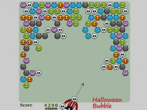 Игра Шарики на Хеллоуин