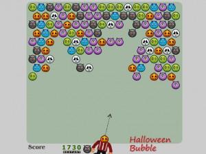 Онлайн игра Шарики на Хеллоуин (Halloween Bubble) (изображение №2)