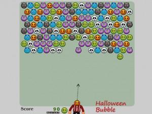 Онлайн игра Шарики на Хеллоуин (Halloween Bubble) (изображение №3)