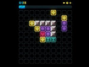 Онлайн игра Сияющие фигурки (Glow grid) (изображение №3)