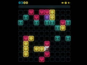 Онлайн игра Сияющие фигурки (Glow grid) (изображение №5)