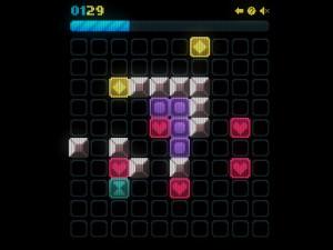 Онлайн игра Сияющие фигурки (Glow grid) (изображение №6)