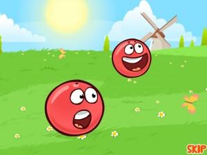 Онлайн игра Красный шар 4 часть 1 (Red ball 4 vol.1) (изображение №2)