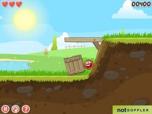 Онлайн игра Красный шар 4 часть 1 (Red ball 4 vol.1) (изображение №3)