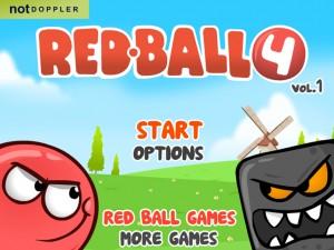 Онлайн игра Красный шар 4 часть 1 (Red ball 4 vol.1) (изображение №4)