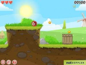 Онлайн игра Красный шар 4 часть 1 (Red ball 4 vol.1) (изображение №5)