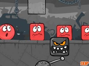 Онлайн игра Красный шар 4 часть 1 (Red ball 4 vol.1) (изображение №6)