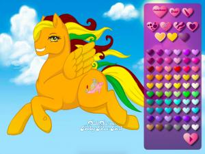 Онлайн игра Создай свою пони (Create your own pony) (изображение №2)