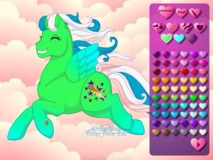 Онлайн игра Создай свою пони (Create your own pony) (изображение №3)