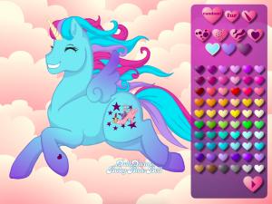 Онлайн игра Создай свою пони (Create your own pony) (изображение №4)