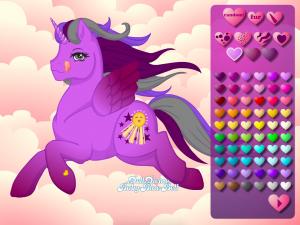 Онлайн игра Создай свою пони (Create your own pony) (изображение №5)