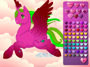 Онлайн игра Создай свою пони (Create your own pony) (изображение №6)
