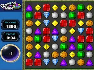 Онлайн игра Бриллиантовое поле (Diamond mine) (изображение №1)