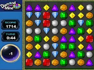 Онлайн игра Бриллиантовое поле (Diamond mine) (изображение №2)