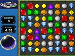 Онлайн игра Бриллиантовое поле (Diamond mine) (изображение №3)