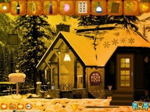 Комната в снежном домике