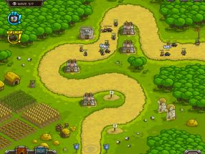 Онлайн игра Переполох в королевстве (Kingdom Rush) (изображение №2)