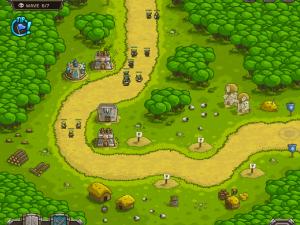 Онлайн игра Переполох в королевстве (Kingdom Rush) (изображение №9)