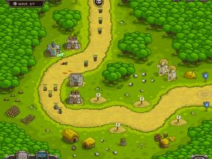 Онлайн игра Переполох в королевстве (Kingdom Rush) (изображение №6)