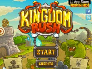 Онлайн игра Переполох в королевстве (Kingdom Rush) (изображение №1)