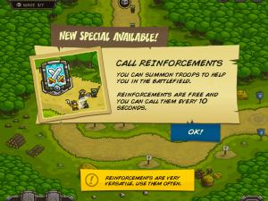 Онлайн игра Переполох в королевстве (Kingdom Rush) (изображение №4)