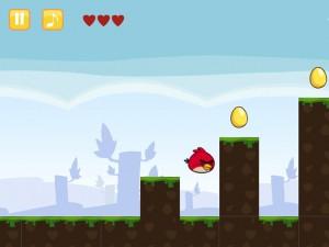 Онлайн игра Злые Птицы Сумасшедшее Движение (Angry Birds Go Crazy) (изображение №4)