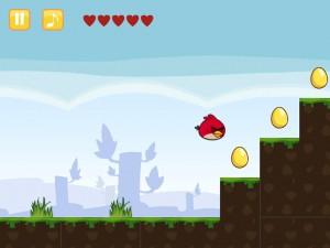 Онлайн игра Злые Птицы Сумасшедшее Движение (Angry Birds Go Crazy) (изображение №7)