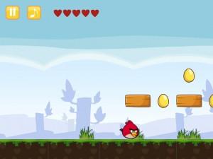 Онлайн игра Злые Птицы Сумасшедшее Движение (Angry Birds Go Crazy) (изображение №6)