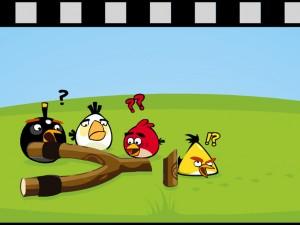 Онлайн игра Злые Птицы Сумасшедшее Движение (Angry Birds Go Crazy) (изображение №2)