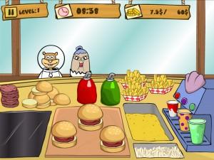 Онлайн Игра Губка Боб на работе (Spongebob Patty Dash) (изображение №6)