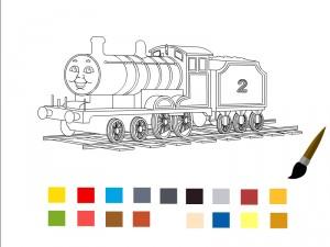 Томас и его друзья Раскраска