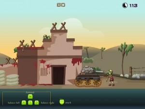 Онлайн Игра Танк против зомби (Zombie tank battle) (изображение №6)