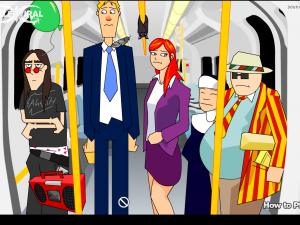 Онлайн игра Кризис в вагоне (Tube Crisis) (изображение №2)