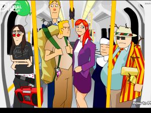 Онлайн игра Кризис в вагоне (Tube Crisis) (изображение №3)