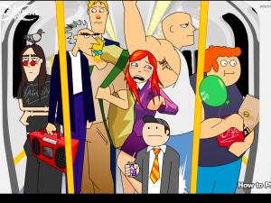 Онлайн игра Кризис в вагоне (Tube Crisis) (изображение №4)