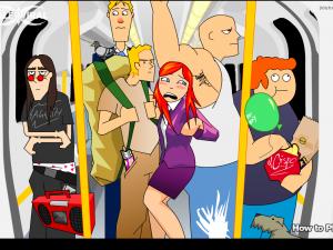 Онлайн игра Кризис в вагоне (Tube Crisis) (изображение №6)