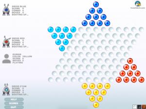 Онлайн игра Китайская звезда: Шашки (Chinese star: Checkers) (изображение №2)