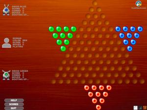 Онлайн игра Китайская звезда: Шашки (Chinese star: Checkers) (изображение №5)