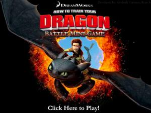 Как приручить дракона: Мини Битва