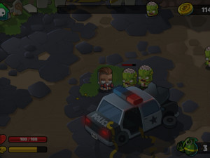 Онлайн игра Стрельба по зомби (Wrath of zombies) (изображение №4)