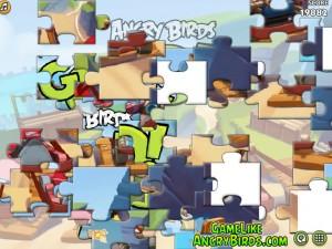 Онлайн Игра Злые птицы Вперед! Пазлы  (Angry Birds Go! Jigsaw) (изображение №2)