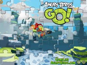 Онлайн Игра Злые птицы Вперед! Пазлы  (Angry Birds Go! Jigsaw) (изображение №5)