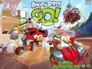 Онлайн Игра Злые птицы Вперед! Пазлы  (Angry Birds Go! Jigsaw) (изображение №6)
