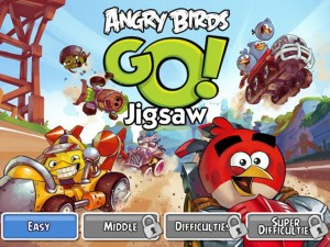 Онлайн Игра Злые птицы Вперед! Пазлы  (Angry Birds Go! Jigsaw) (изображение №1)