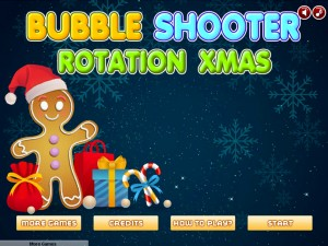 Онлайн игра Рождественская стрельба шариками (Bubble shooter rotation xmas) (изображение №4)